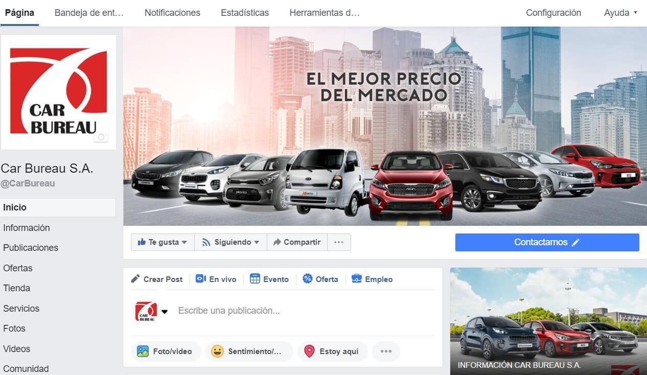 Car Bureau - Campaña Digital - Facebook