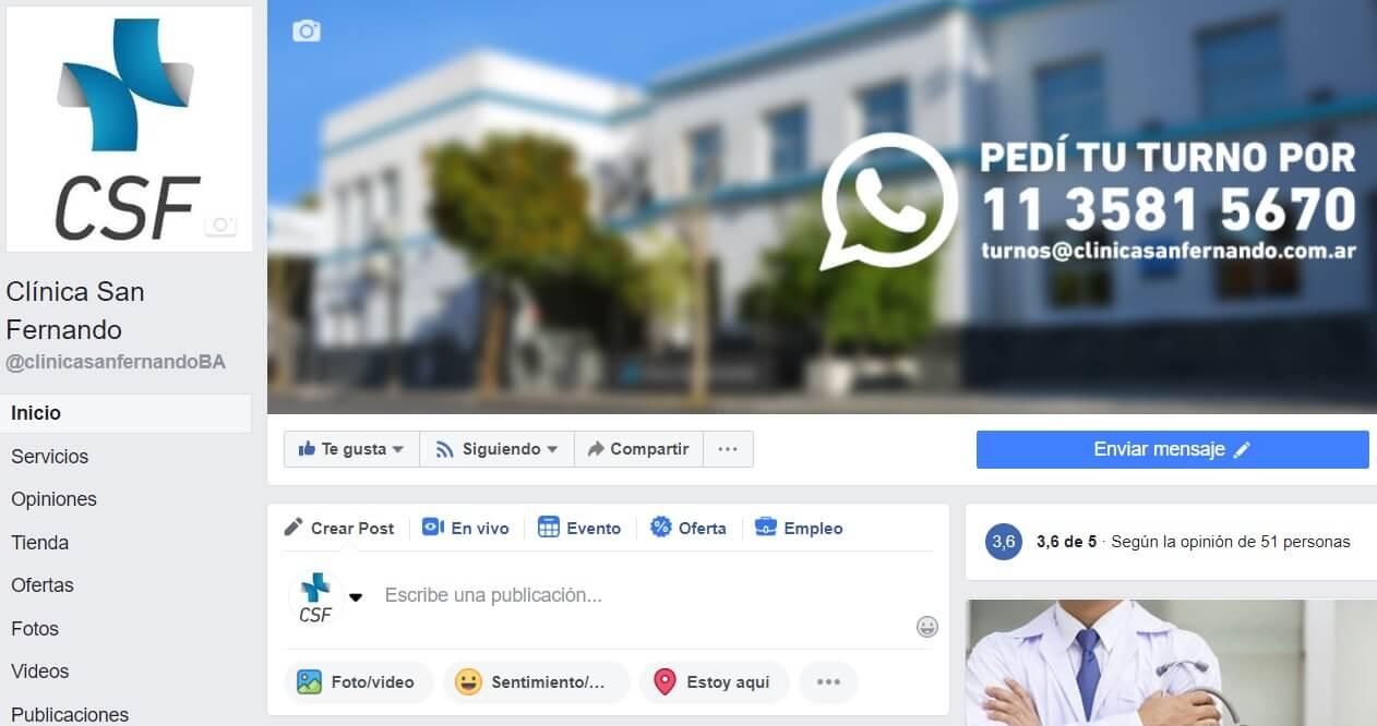 Clinica San Fernando - Facebook