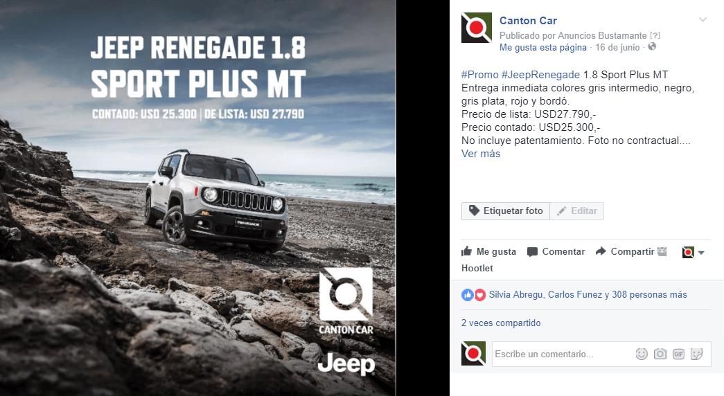 Facebook - Canton Car