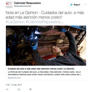 Twitter - Cabriolet
