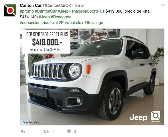 Twitter - Canton Car